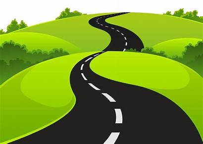 Clipart Road Milestone Pathway Bendy Transparent Webstockreview