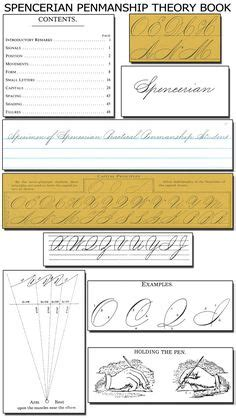 Calligraphy  Penholding And Movement Exercises On Pinterest  15 Pins