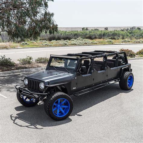 Modifikasi Jeep Wrangler by Beginilah Modifikasi Jeep Wrangler 6 Pintu