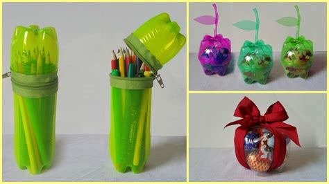 recycling ideas 10 tutos pour donner une seconde vie 224 vos bouteilles en plastique plastic bottles reuse