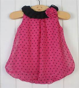2014 New Fashion Polka Dot girl print dress brand newborn ...