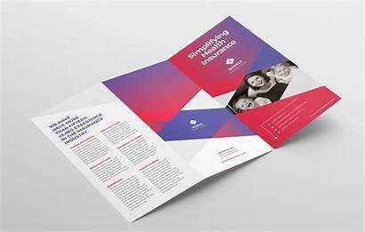 Brochure Fold Tri Template Corporate Modern Photoshop