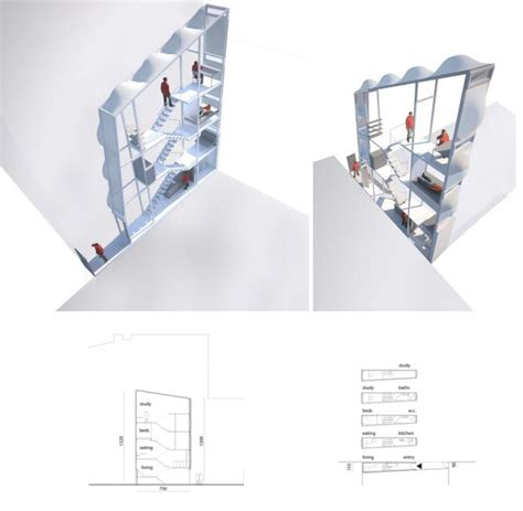 worlds narrowest house   inches wide