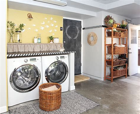 7 Diy Ideas For A Laundry Nook In The Garage