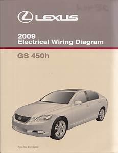2009 Lexus Gs 450h Wiring Diagram Manual Original