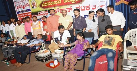 Youth should voluntarily donate blood: Jeevadhara Blood ...