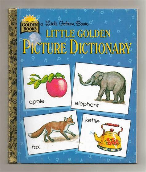 Little Golden Books Little Golden Picture Dictionary