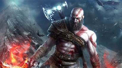 God War 4k Kratos Wallpapers Resolution 1440p