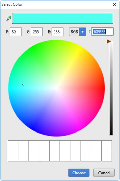 intellij idea   changing color values  style sheets