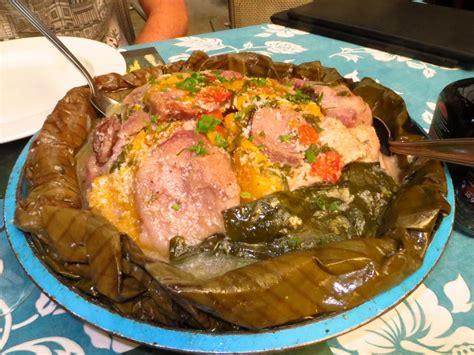 cuisiner des patates recette le bougna sur un mélange des îles de