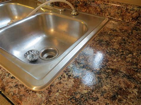 caulking sink after giani granite paint the diy