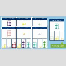 * New * Number Shape Number Bonds To 10 Peg Matching Game  Eyfs, Number