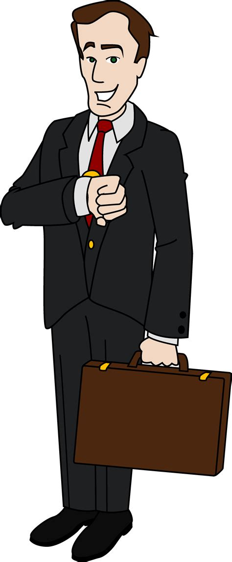 Businessman Clipart Manager Clipart Clipground