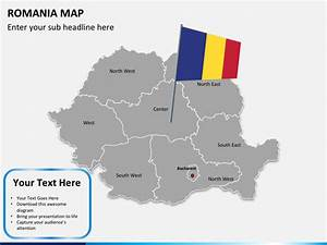 Romania Map Powerpoint