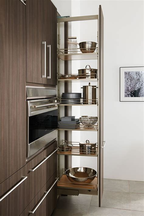 Contemporary Kitchen Furniture by Pull Out Pantry As Shown In The Contemporary