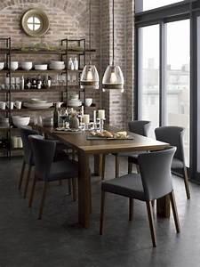Les chaises de salle a manger 60 idees for Meuble de salle a manger avec chaise de salle a manger bois
