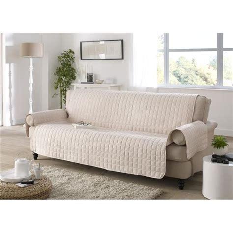housse de canapé 3 places protege canape 3 places ivoire achat vente housse de