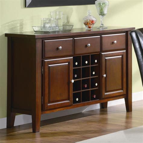 Coaster 102245 Brown Wood Server Steal A Sofa Furniture