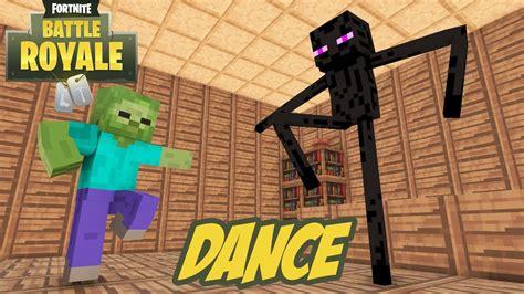monster school fortnite dance challenge minecraft