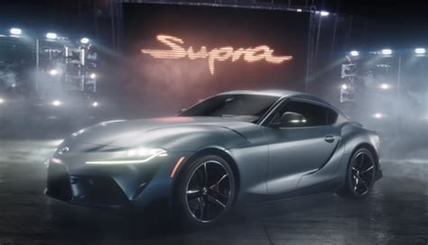 toyota supra super bowl ad  twitter reactions