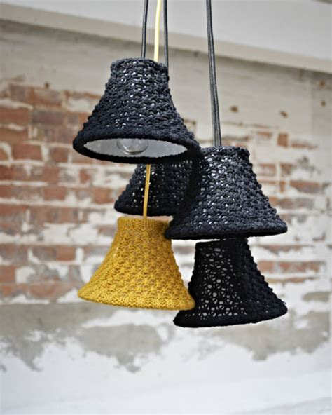 Objects Of Design Five Knitted Lampshades