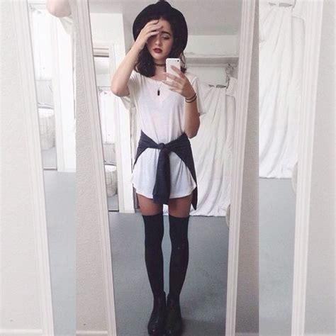 Vestido Camisetu00e3o Estilo Tumblr Moda Casual Bu00e1sico Branco - R$ 7500 em Mercado Livre