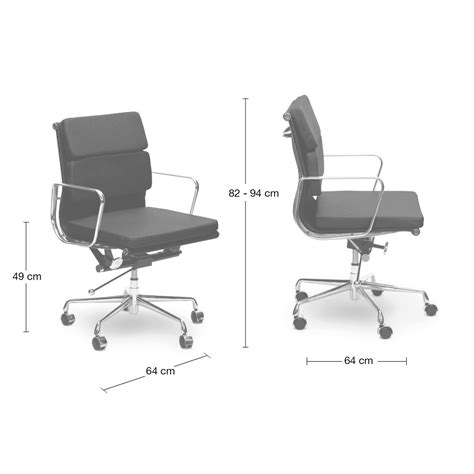 soft pad management boardroom office chair eames replica