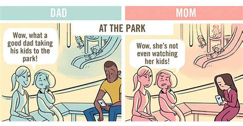 5 Comics That Accurately Capture How The World Can Be Unfair For Mothers Sometimes