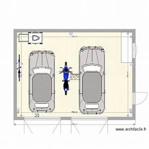 Garage 2 Voitures : garage 2 voitures plan 1 pi ce 43 m2 dessin par hclerc ~ Melissatoandfro.com Idées de Décoration