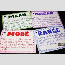 Runde's Room Math Journal Sundays  Mean, Mode, Median, And Range