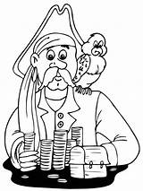 Coloring Pages Pirates Boys Printable Print sketch template