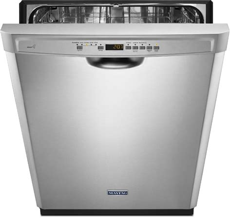 maytag mdbsdz full console dishwasher  powerblast