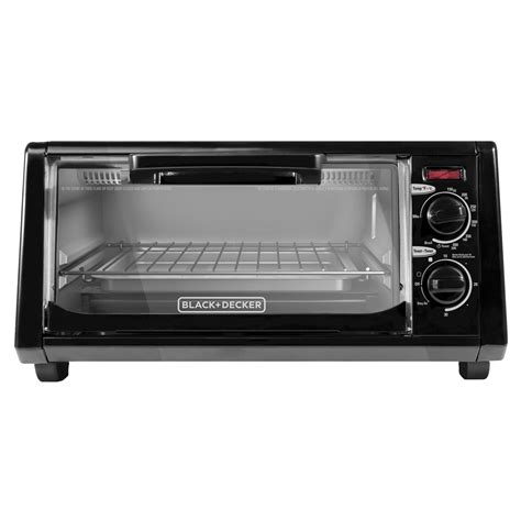 Black Toaster Oven by Black Decker To1200b 4 Slice Toaster Oven