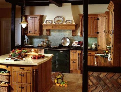 Country And Modern Themes For Kitchens  Interior Design