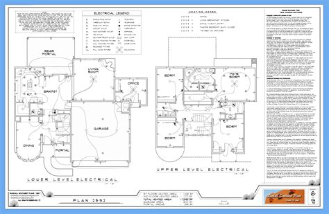 residential electrical plan notes wiring library