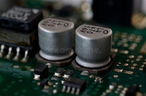 Electrolytic Capacitors Stock Images Download