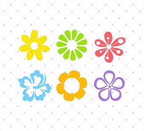 svg cut files  cricut  silhouette summer flowers