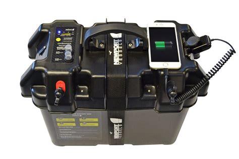 smart battery box power center for trolling motor