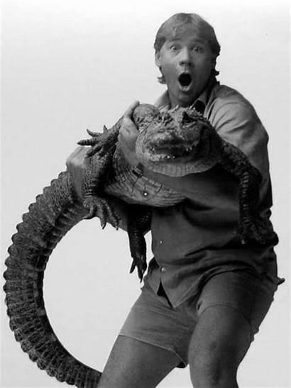 Steve Irwin Crocodile Hunter Illusion Afterimage Guy