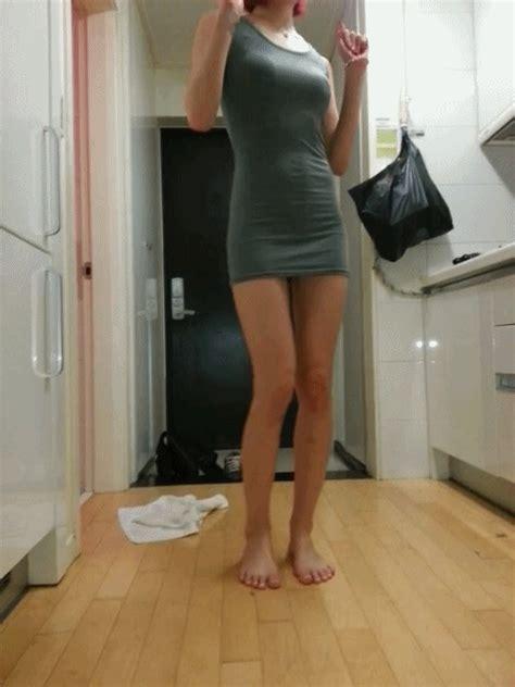 일반인 섹시댄스 짧은 원피스 아름다운 뒤태 섹시움짤 Sexy