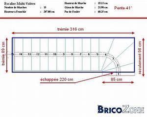 Calcul Escalier Quart Tournant : calcul d 39 un escalier quart tournant bas ~ Dailycaller-alerts.com Idées de Décoration
