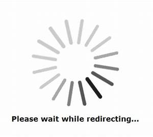 change quotplease wait while redirectingquot message by With please wait