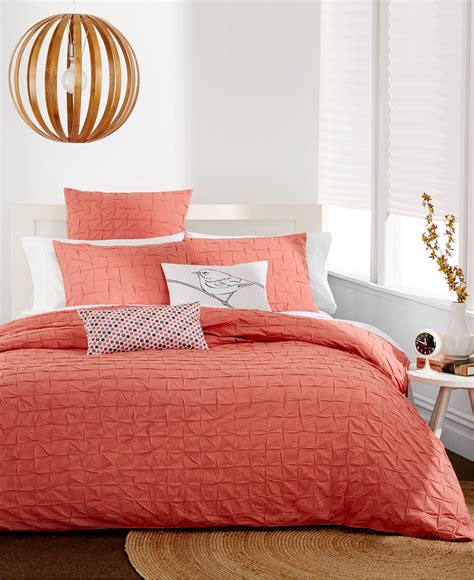 34101 bar iii bedding bar iii box pleat sunset collection decor by color