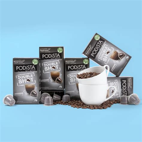 A home grown brand and this happened when a coffee addict, a coffee lover and a coffee enthusiast came together and decided that it's time to launch a concept that retains the purest elements in a coffee shop. PODiSTA Nespresso®* Compatible Double Shot Coffee Pod 10pk ...