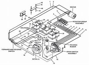 6 Best Images Of 1991 Club Car Electrical Diagram Wiring Diagram