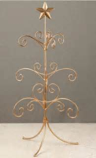 ornament trees regent display tree 22 quot gold mini ornament trees ornament stands