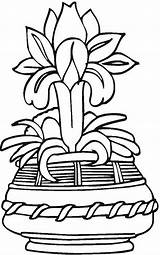 Coloring Vase Pottery Vases Patterns Colouring Printable Flower Adult Adults Colorpagesformom Embroidery Drawing Flowers Japanese Getdrawings A4 sketch template