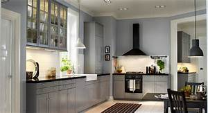 Exquisite, Grey, Walls, Kitchen, The, Color, Effect
