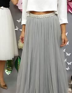 Boho Kleid Hochzeitsgast : langer t llrock grau hochzeitsrock braut standesamt dieser t llrock ist ideal f r die ~ Yasmunasinghe.com Haus und Dekorationen