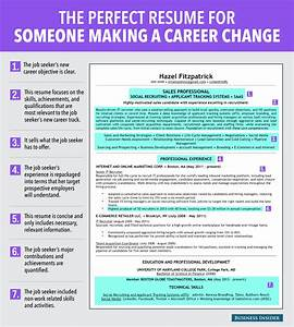 7 reasons this is an excellent resume for someone making a With career resume